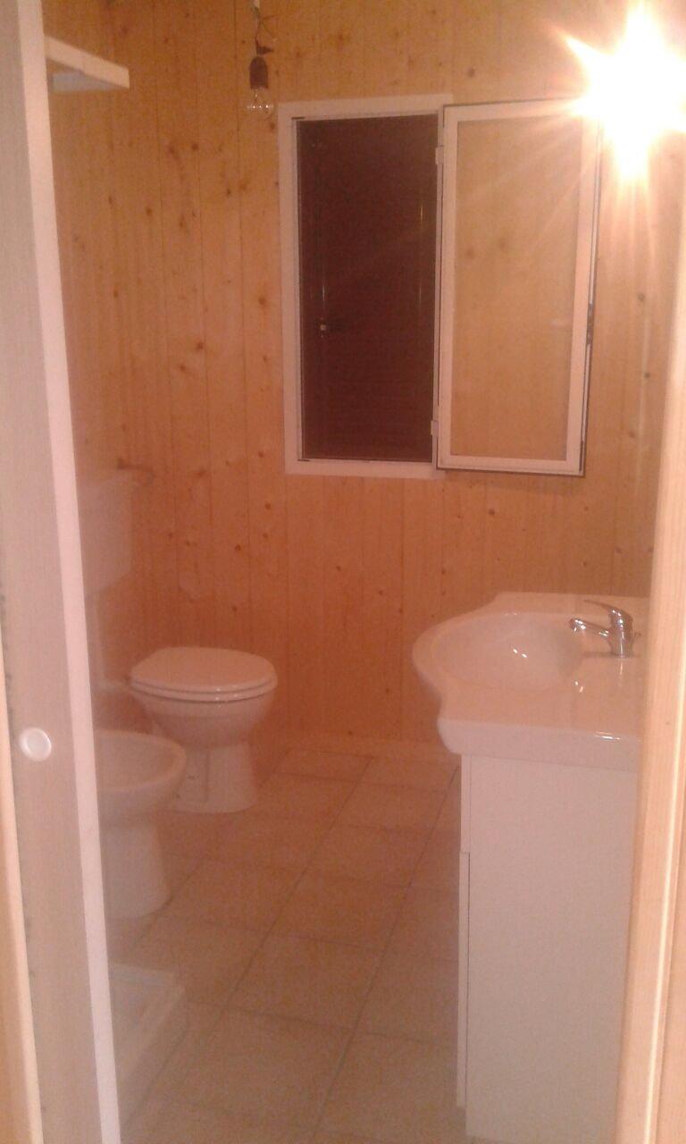 interno del bagno di un Bungalow