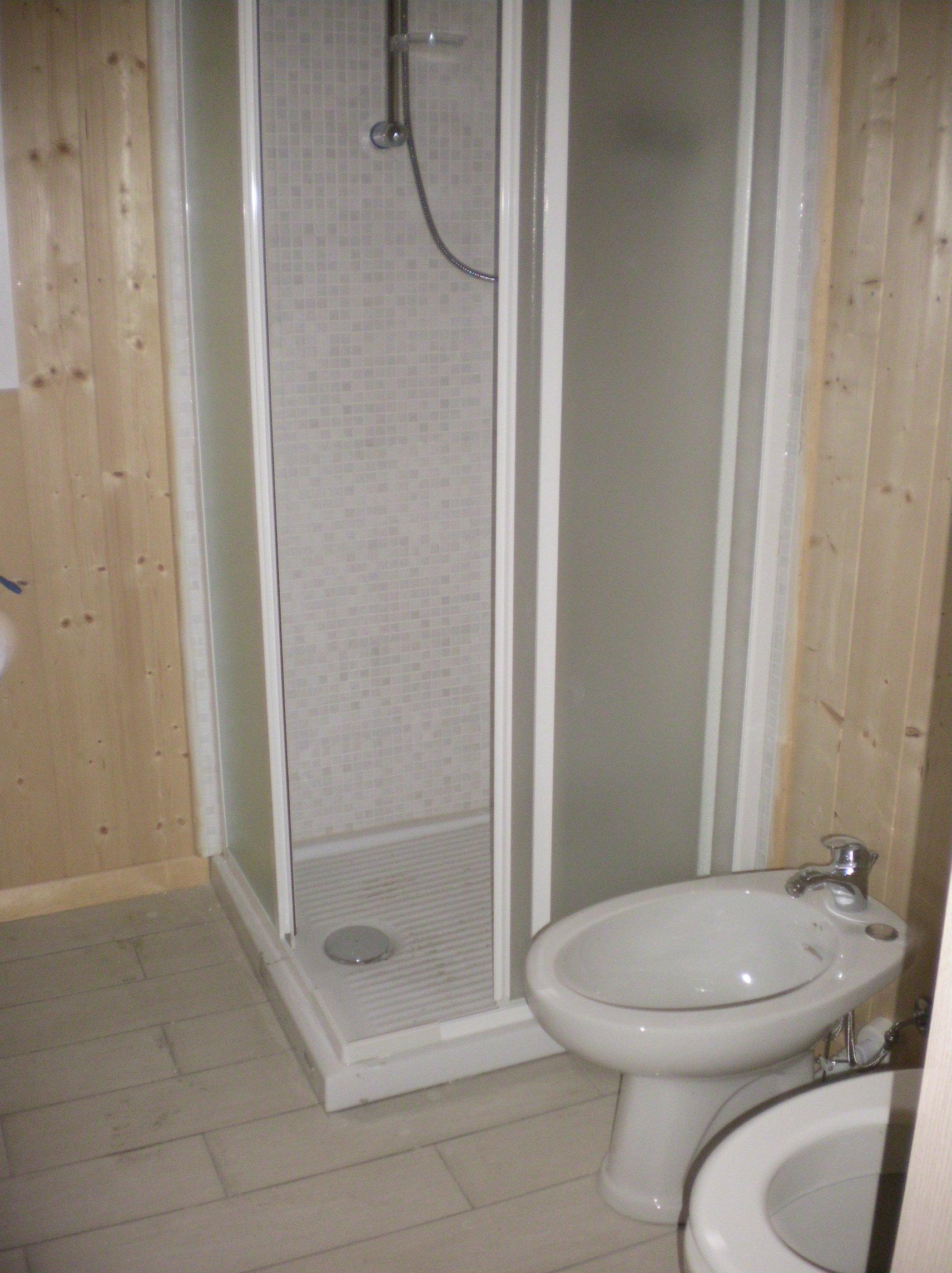 box doccia del Bungalow interno