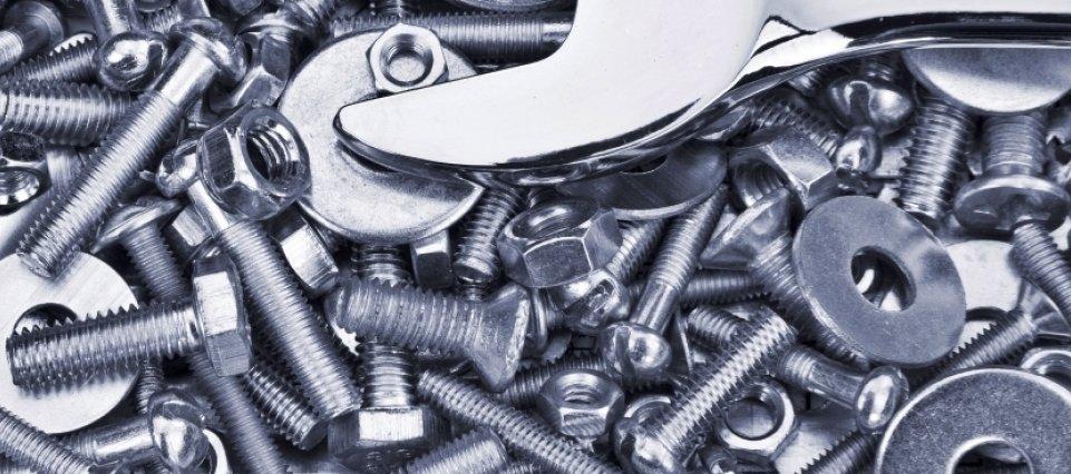 materiali in acciaio ed ottone
