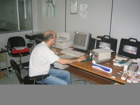 Stangalini Colori, Novara - La struttura dell'azienda