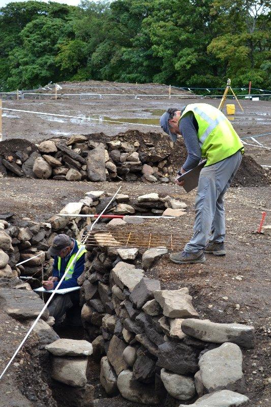Recording an Iron Age souterrain