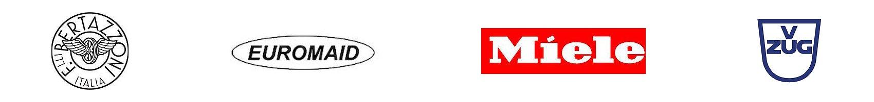 f bertazonna italia euromaid miele zug logos