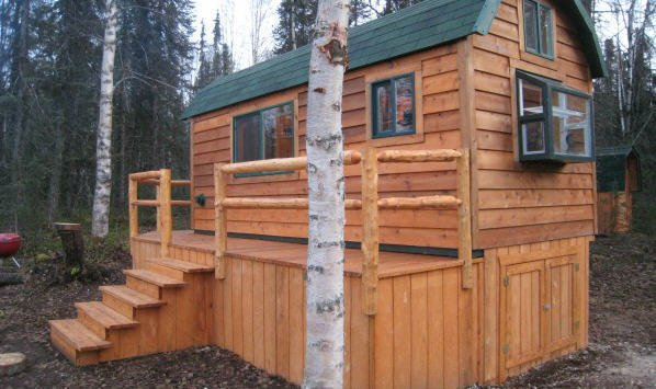 Outdoor shed in Anchorage, AK