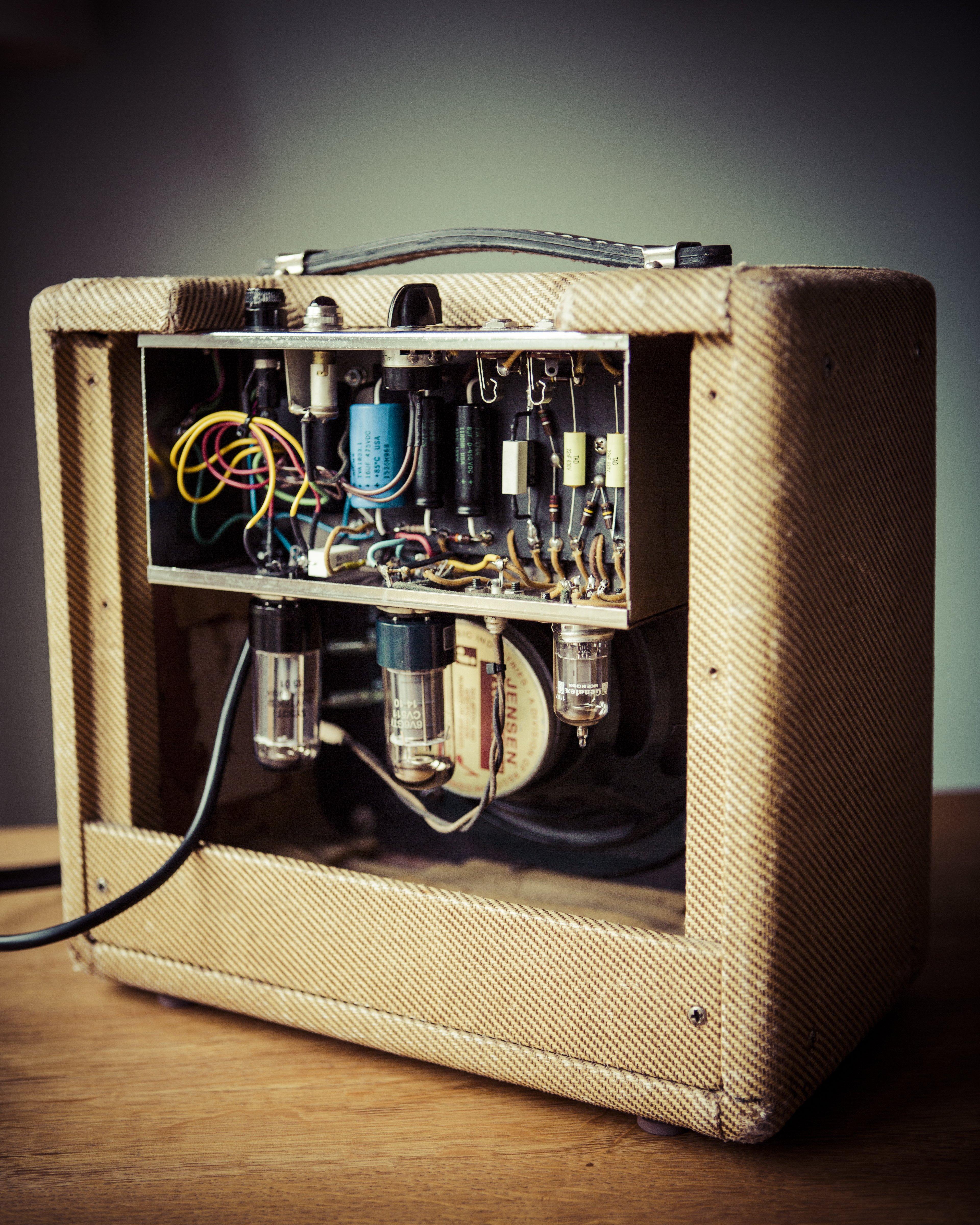 Fender Silver Face Amplifier