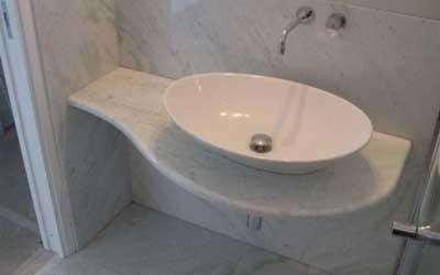 White washbasin