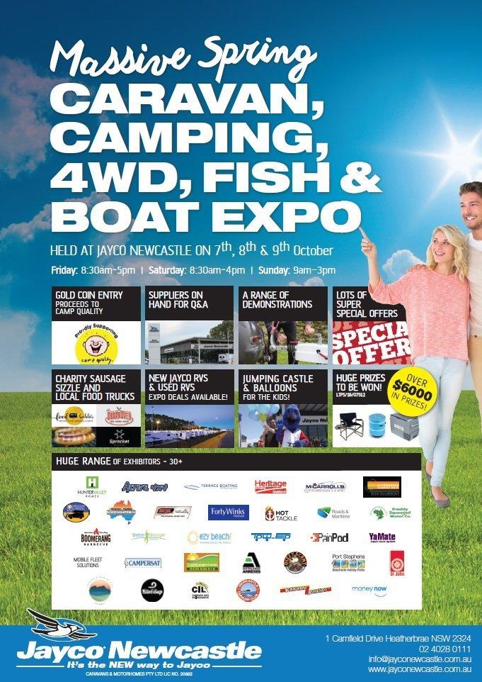 jayco newcastle outdoor expo