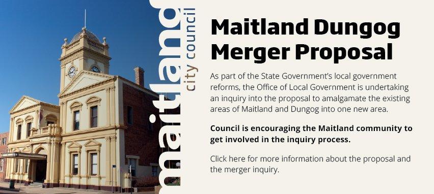 maitland dungog merger