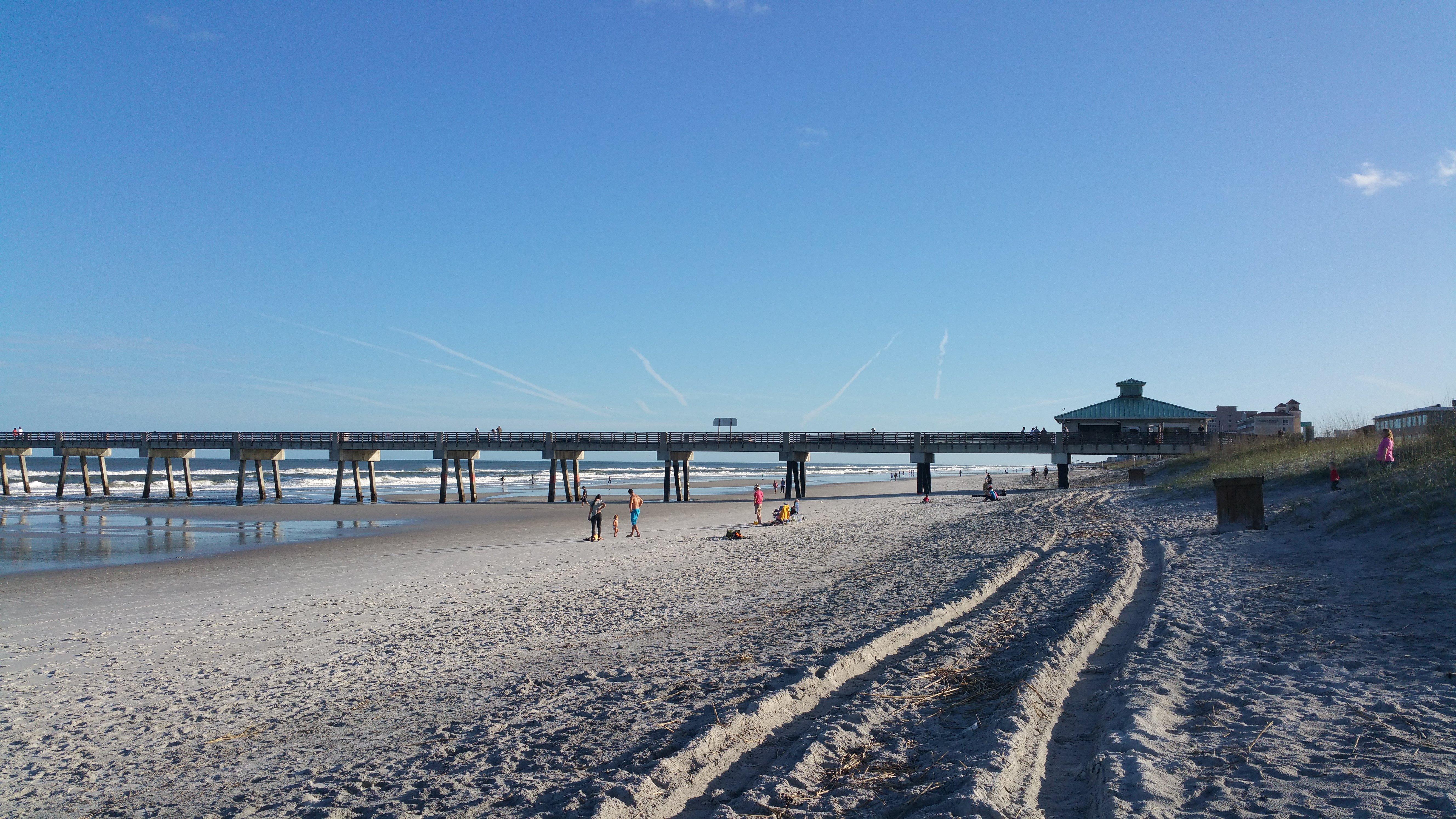 Atlantic Ocean NE Florida Jacksonville Beach Pier