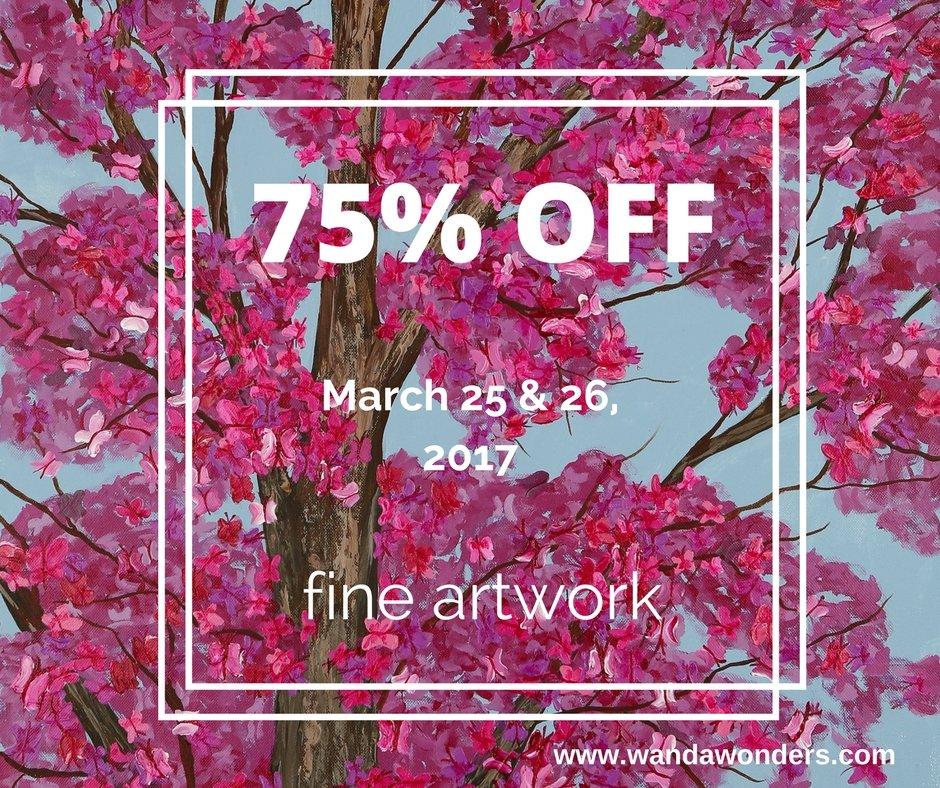 75% off sale