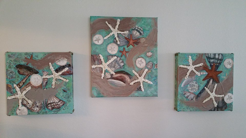 Seashells Painting