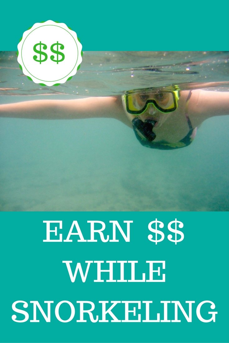 Earn Money While You Sleep, Snorkel, Etc.