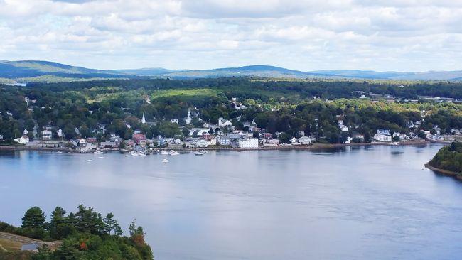 Village in Maine, photo by Wanda Pepin