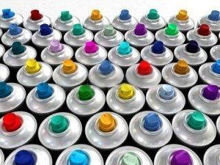 bombolette spray colorate