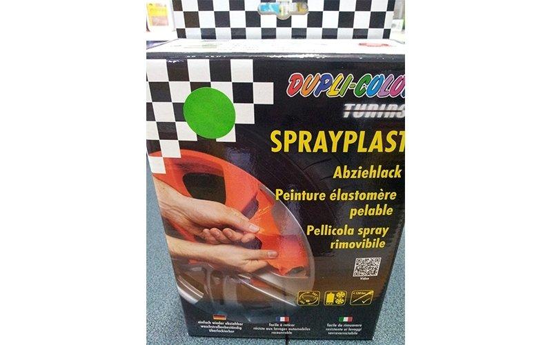 pellicola spray rimovibile