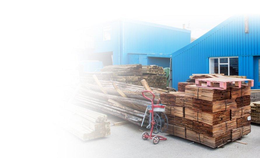 Builders merchants materials