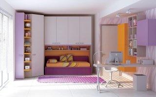Camerette per bambini Moretti Compact