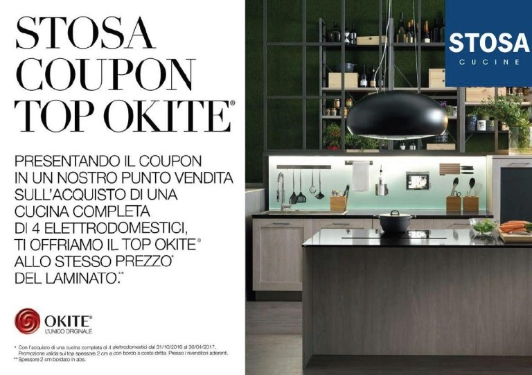 coupon stosa cucine