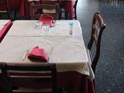 tavoli con prenotazione