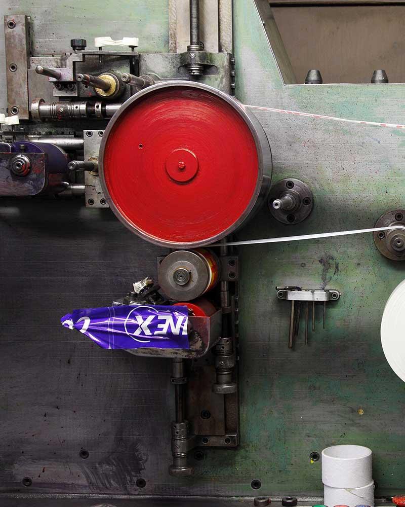 macchina per stampa etichette