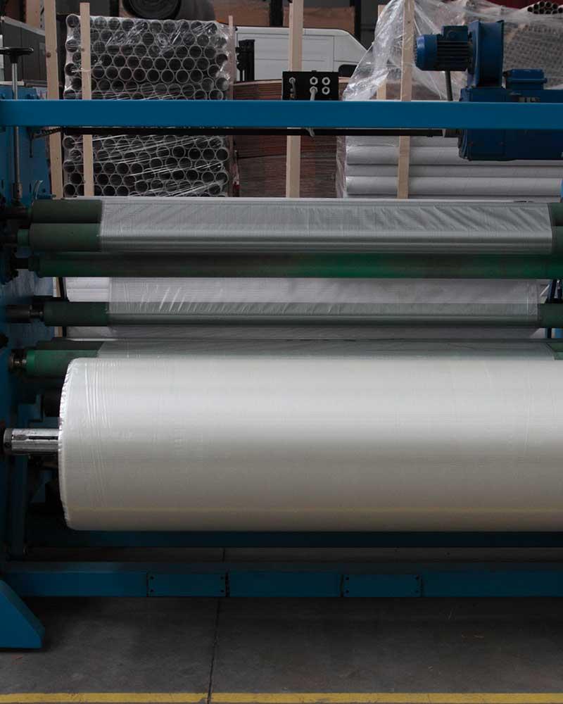 macchina per produzione nastri trasparenti