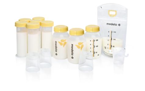 medela breastmilk feeding gift set