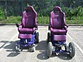 purple mobility chairs