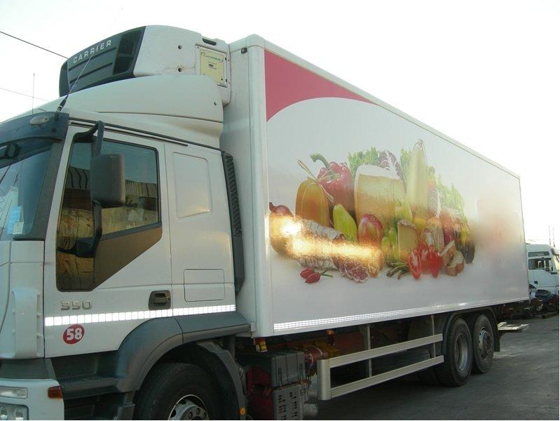 personalizzazione camion