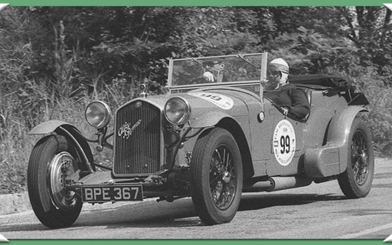 stampa fotografie racing storico