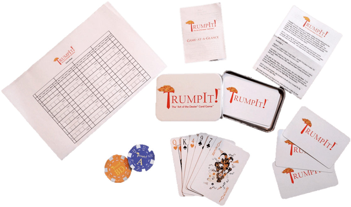 TrumpIt Card Game Package