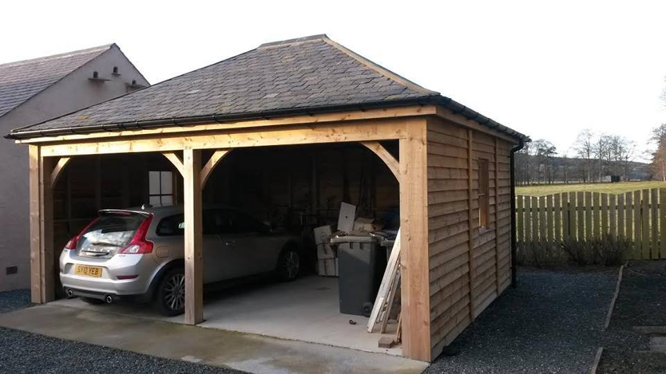 double car shed