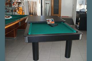 biliardo tavolo doppio uso