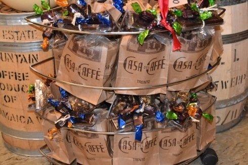 caffè e cioccolatini