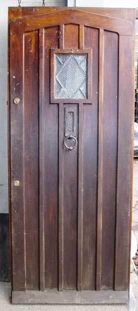 strong metal door