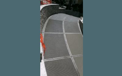 pavimentazione ingresso box
