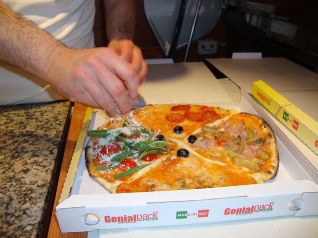 Condimento pizza di diversi gusti