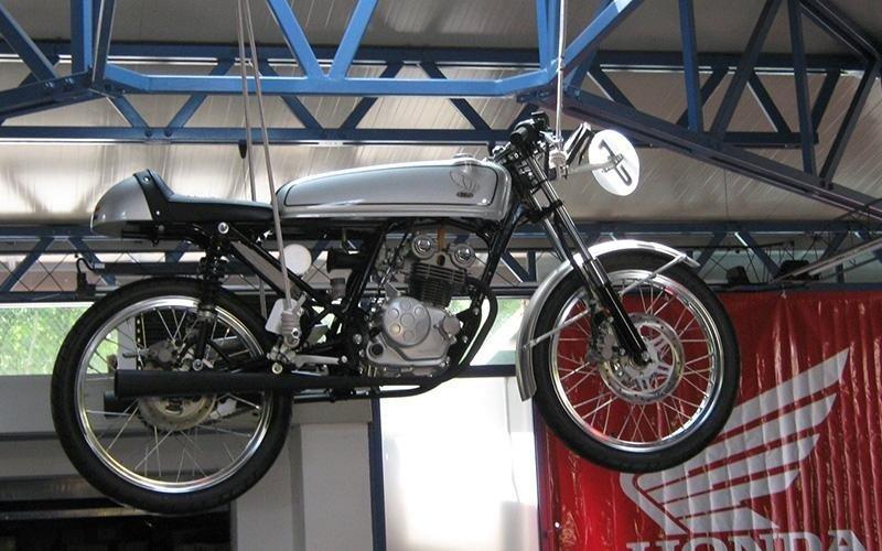 moto honda dream