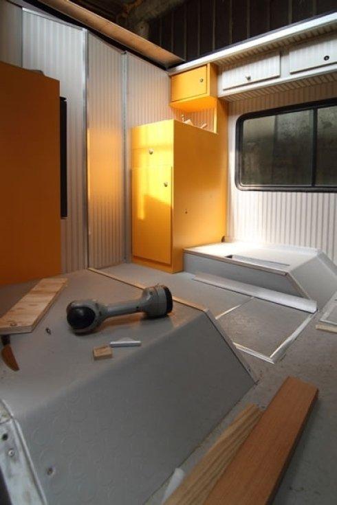 Assistenza tecnica per interni roulotte e camper
