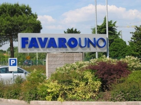 insegna Favaro Uno