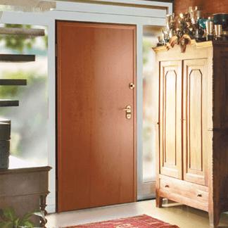porte rinforzate color legno