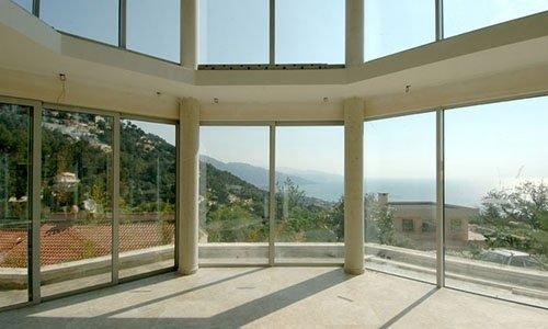 vetrate scorrevoli in alluminio