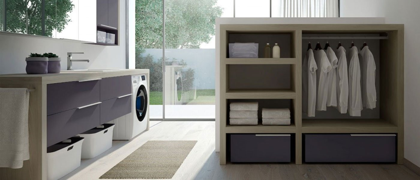 Mobili per lavanderia ad Aragona