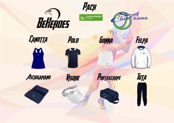 Challenger Donna Abbigliamento Sporting Club Genova