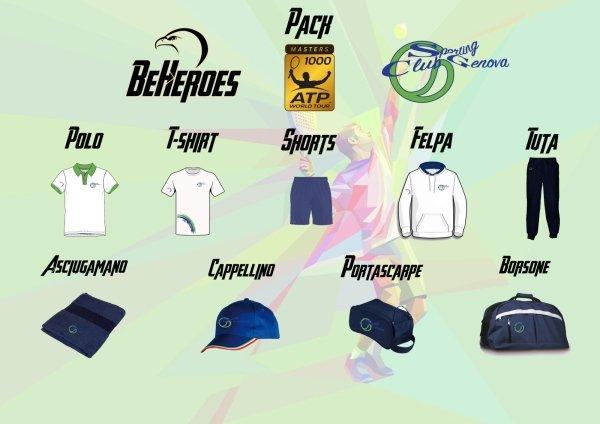 Master1000 uomo Abbigliamento Sporting Club Genova