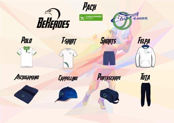 Challenger uomo Abbigliamento Sporting Club Genova