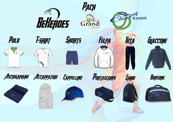 GrandSlam uomo Abbigliamento Sporting Club Genova
