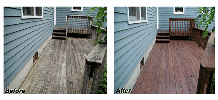 Deck Staining And Deck Cleaning In Nh And Ma Hennessy Painting Co Llc