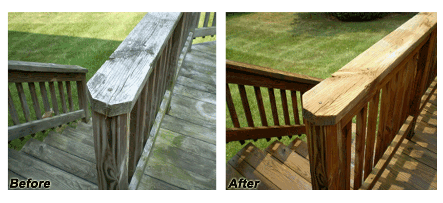 Deck Staining and Deck Cleaning in NH and MA | Hennessy