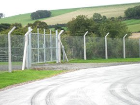 Industrial - Gauldry, Newport-On-Tay - C.N. Fencing - Metal fencing