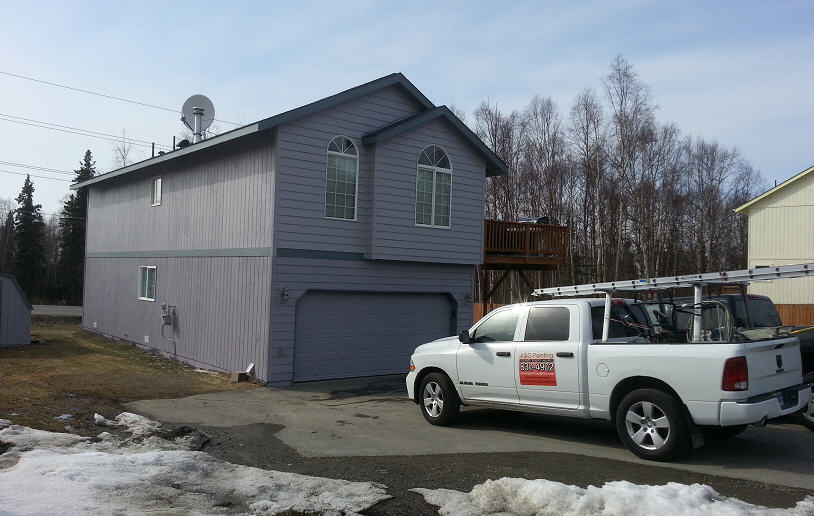 Residential painting Anchorage, AK