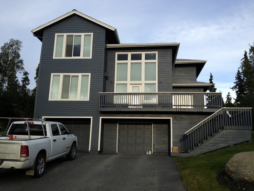 professional exterior painting by A & G Painting in Anchorage, AK